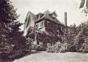 Historic photo of Goldsmith House (Image courtesy Dr. Tanya March)