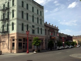 The Seamen's Society Hotel in Portland's Old Town/China Town is currently undergoing rehabilitation that would not be financially feasible without the federal tax credit.