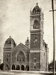 The church circa 1910