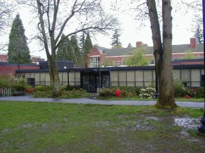 Psychology building, Reed College (photo courtesy of Reed College)