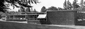 Psychology Building, Reed College 1949 (photo courtesy of Reed College)
