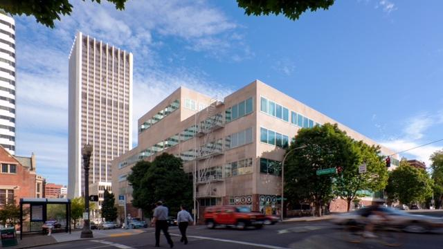 The Oregonian's former headquarters at SW Broadway & Jefferson St. in Portland  (Nick Grier Photography)