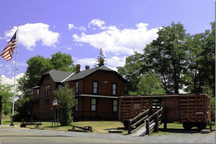 DeWitt Museum in Sumpter Valley Railway Depot
