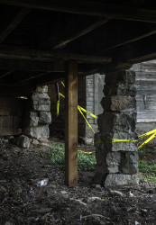 The Shipley-Cook Barn was teetering on stacked stones until Restore Oregon helped secure grants to stabilize the structure.