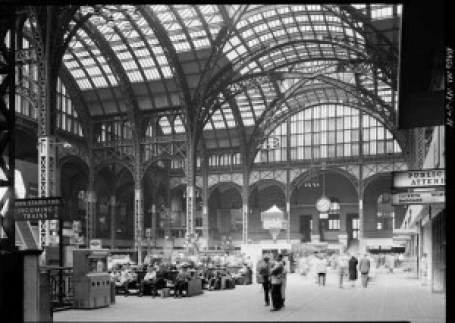 Main Concourse of old Penn Station 1962