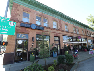 A view of Newberg's historic Union Block. (Photo Courtesy of City of Newberg)