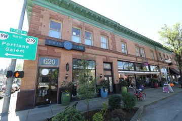 A view of Newberg's historic Union Block. (Photo Courtesy of City of Newberg)