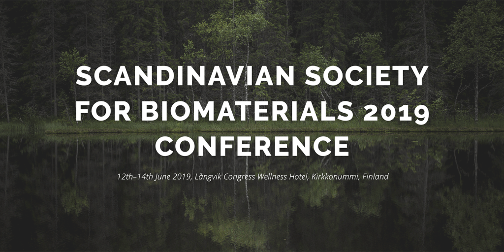 RESTORE project presented at Scandinavian Society for Biomaterials 2019 conference