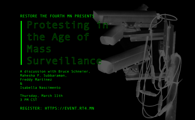 Protesting in the Age of Mass Surveillance