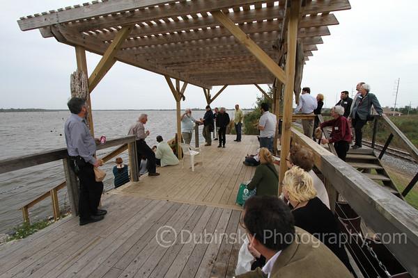 Wetland Platform at Bayou Bienvenue Wetland Triangle