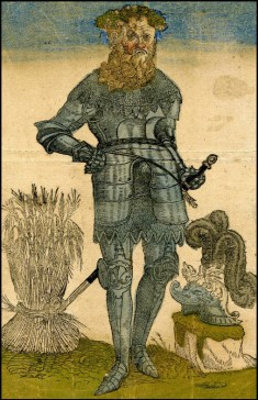 """Gampar"" broadside by Nikolaus Stör, c. 1543"