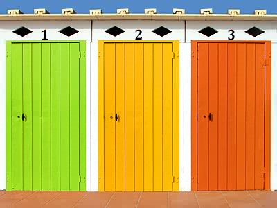 Your Choice: Door Number 1, 2 or 3?