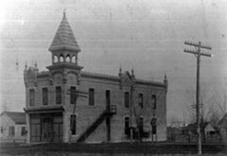 City Building, Peabody, KS, by Charles W. Squires in 1887.