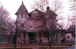 1999. The house at its low point.