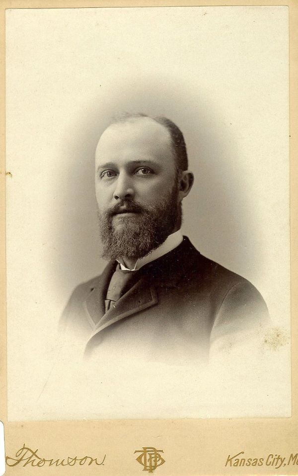 Charles S. Cross, the only child of Susan and Harrison Cross. Image courtesy of the Lyon County Historical Society.
