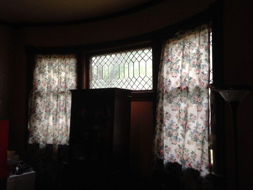 Dining room. North window.
