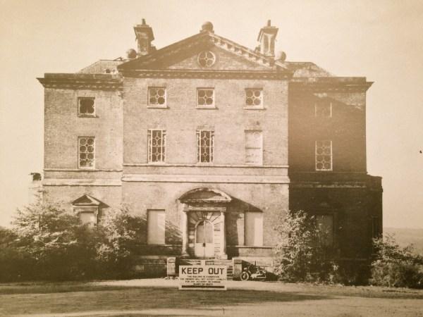 The main facade, 1980s.