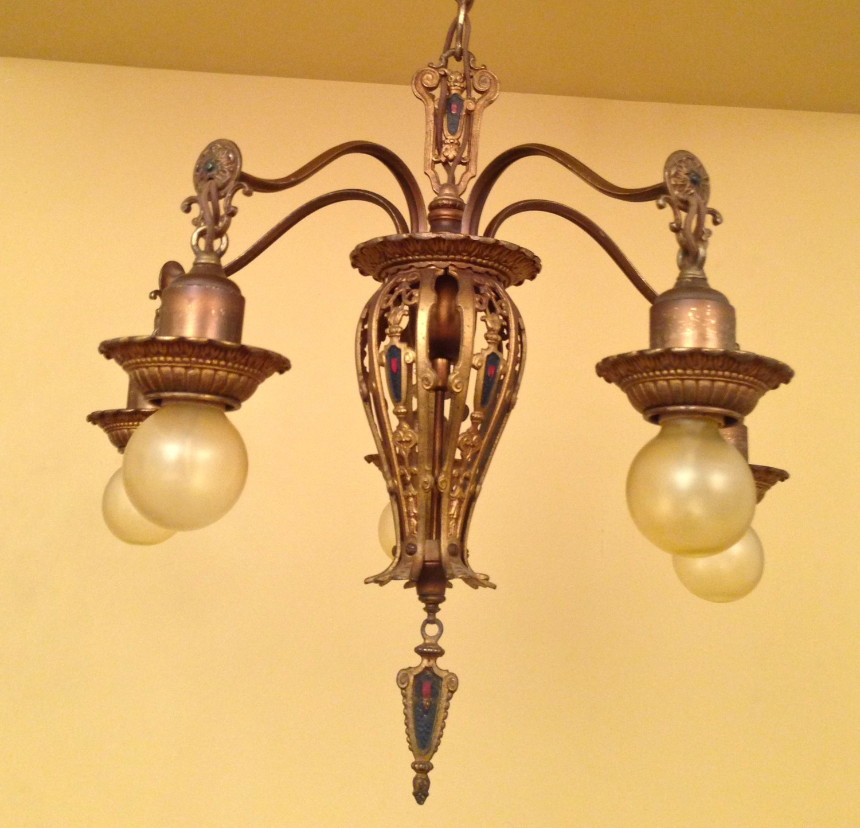spanish revival lighting. This Gorgeous 1920s Pair Of Spanish-Revival Chandeliers! Spanish Revival Lighting I