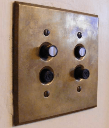 What The Heck Does An 1890s Light Switch Look Like