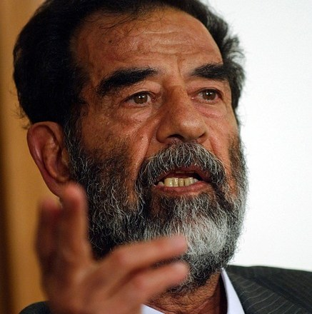 SADDAM TRIED (AND FAILED) TO UNITE THE ARABS WHILE G.W. BUSH HAS SUCCEEDED