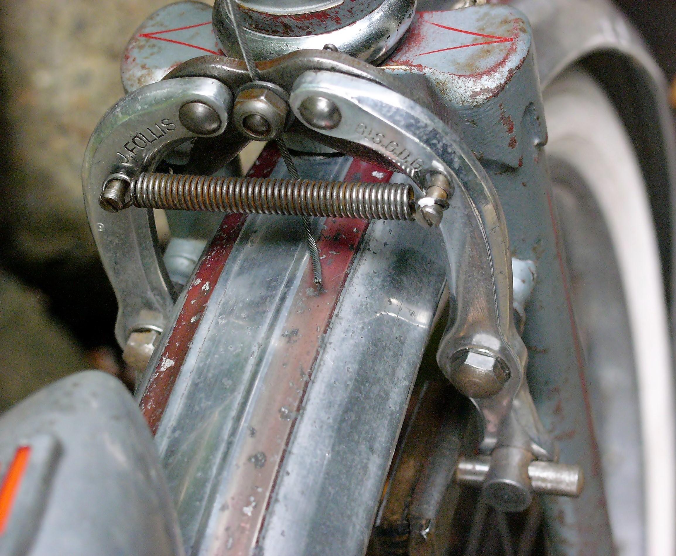 Vintage Mafac centerpull cantilever brake cable