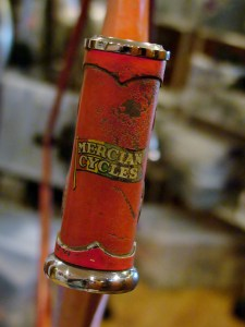 Mercian headbadge