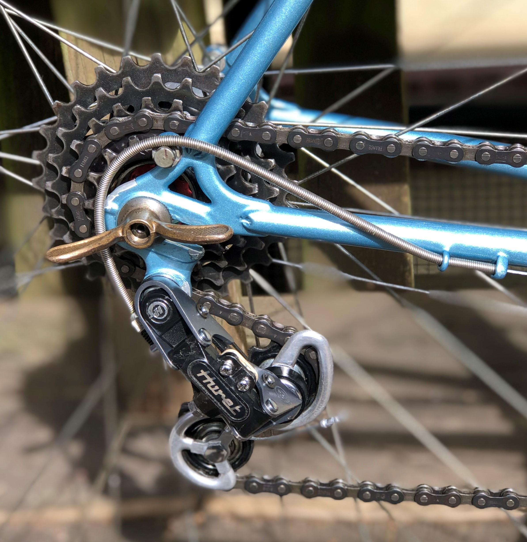 Huret Stem Shifter Clamp New Single With Nut /& Bolt vintage old bicycle bike