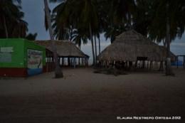 estadero en la playa, Camarones