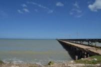 muelle en las minas de sal de Manaure