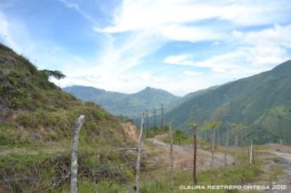 camino, montañas