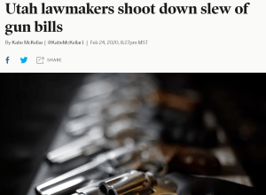 Pro-Gun Control Bias