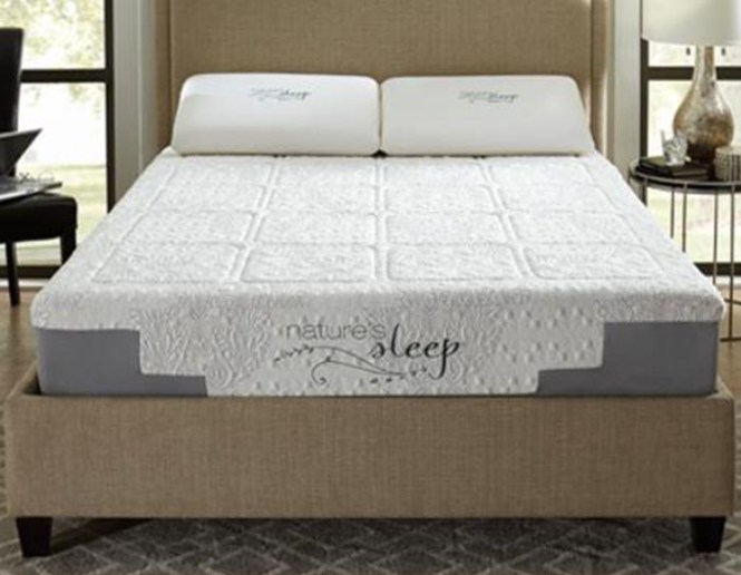 10 Pearl Gel Memory Foam Mattress Medium Firm
