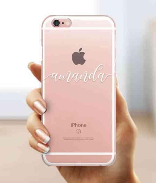 Custom Name iPhone Case