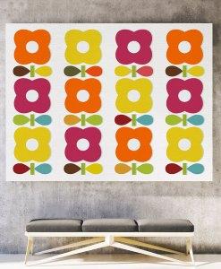 Blossom canvas print horizontal