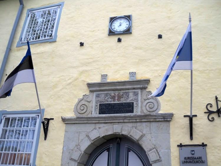 Kuressaare Town Hall Fragment