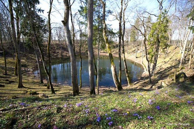 Kaali Lake on Saaremaa