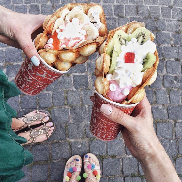 Waffle love in Kazan 2016