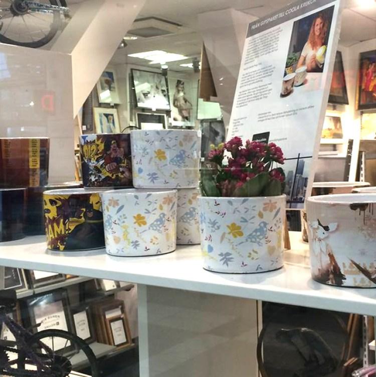 Pingo Pots on exhibition