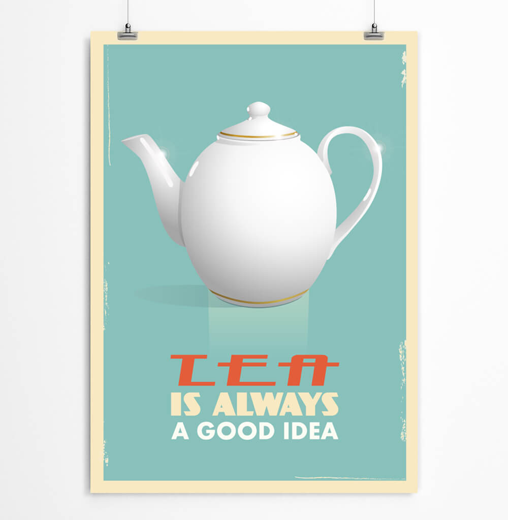 Teapot Art Printable