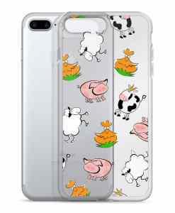 farm phone 7 plus case transparent