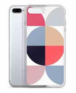 geometric phone 7 plus case