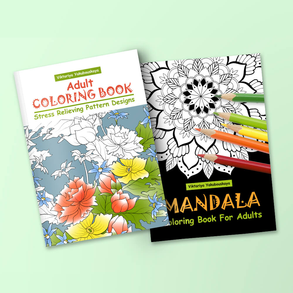 100 Best Adult Coloring Books For Relaxation, Meditation And ...