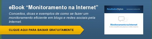 eBook grátis - Monitoramento na Internet e Redes Sociais
