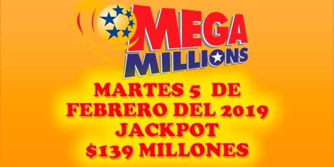 Resultados Mega Millions 5 de Febrero