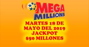 Resultados Mega MIllions 18 de Junio 2019