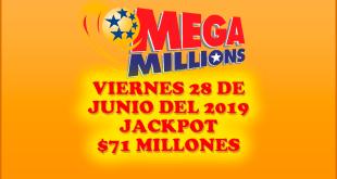 Resultados Mega Millions 28 de Junio