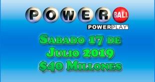 resultados powerball 17 de julio 2019