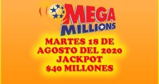 resultados mega millions 18 de agosto 2020