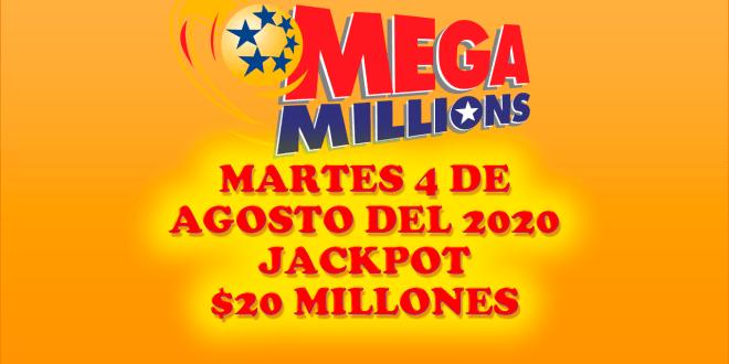 resultados Mega Millions 4 de agosto 2020