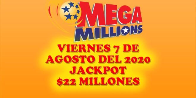 Resultados Mega Millions 7 Agosto 2020